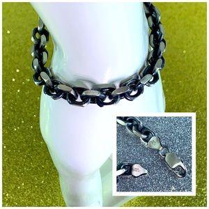 Men's Bracelet 92.5 Sterling Silver Italy